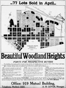 Woodland Heights Advertisement