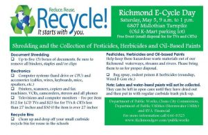 Recycle e-cycle