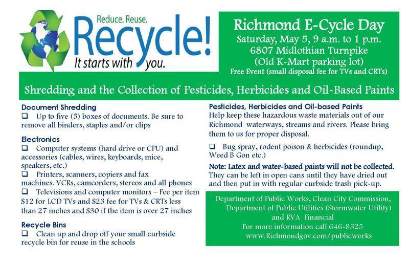 Recycle e-cycle