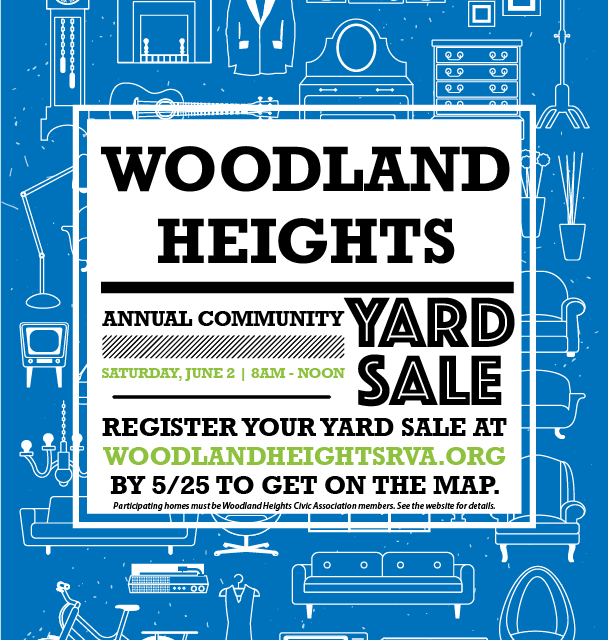 Register now for our annual community yard sale!
