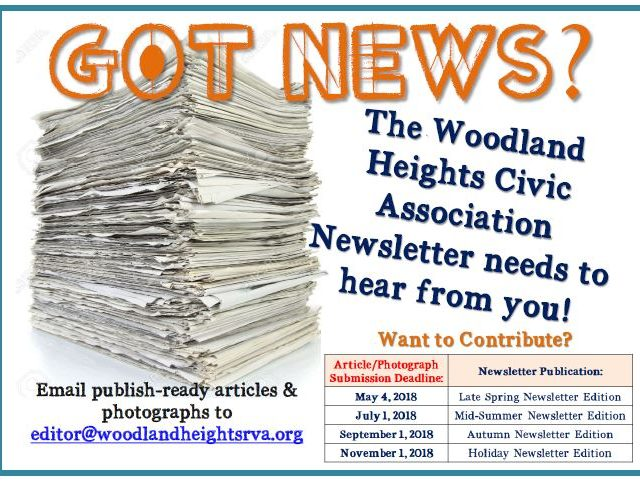 Have News to Share with Your Neighbors?