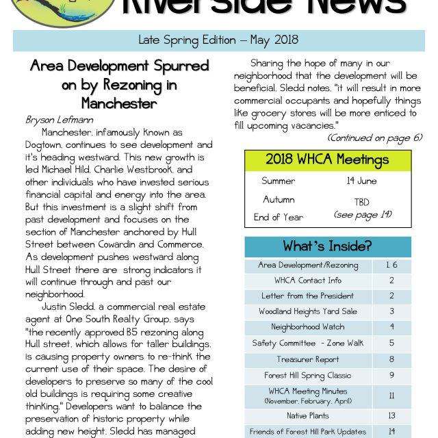 Spring 2018 Riverside News