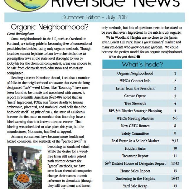 Summer 2018 Riverside News