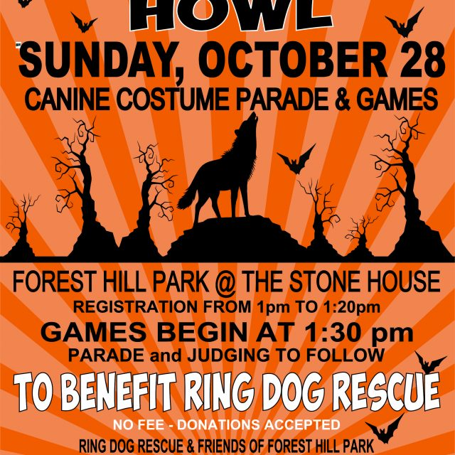 Join the neighborhood canine costume parade and games