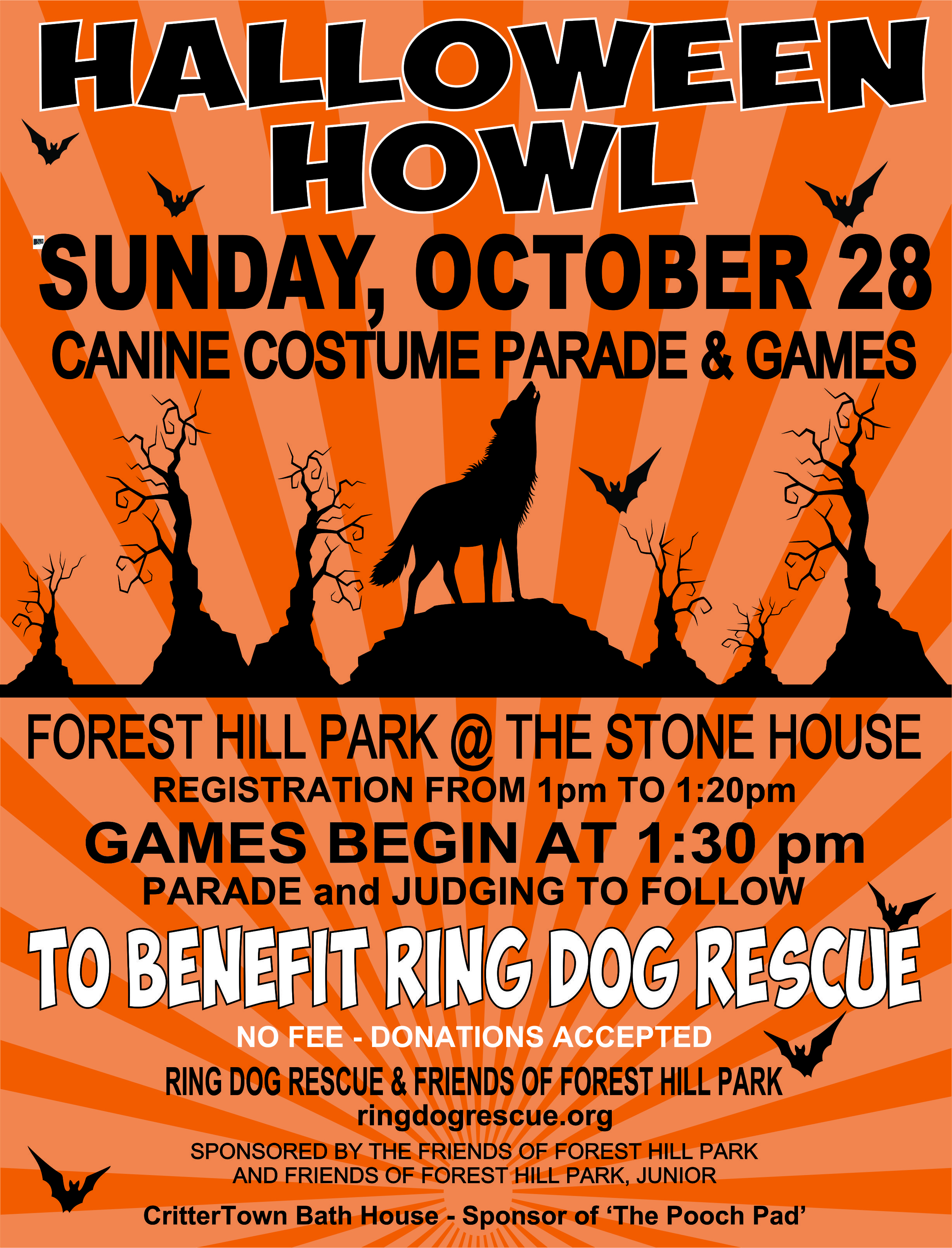 Halloween Canine Costume Parade & Games