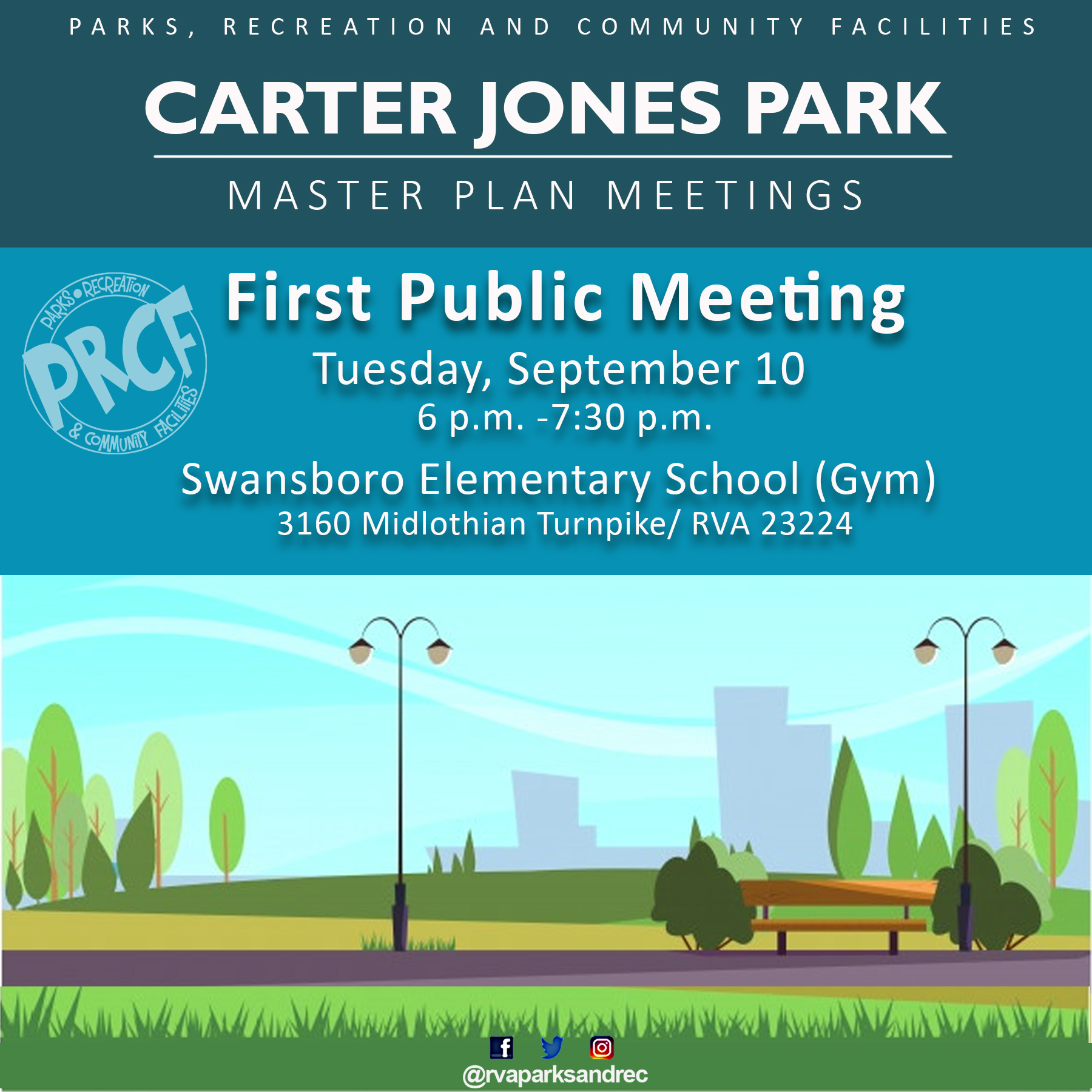 Carter Jones Park Master Planning Public Meeting
