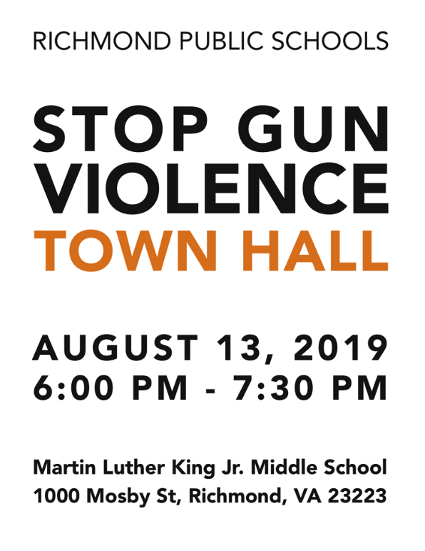 Stop Gun Violence Town Hall
